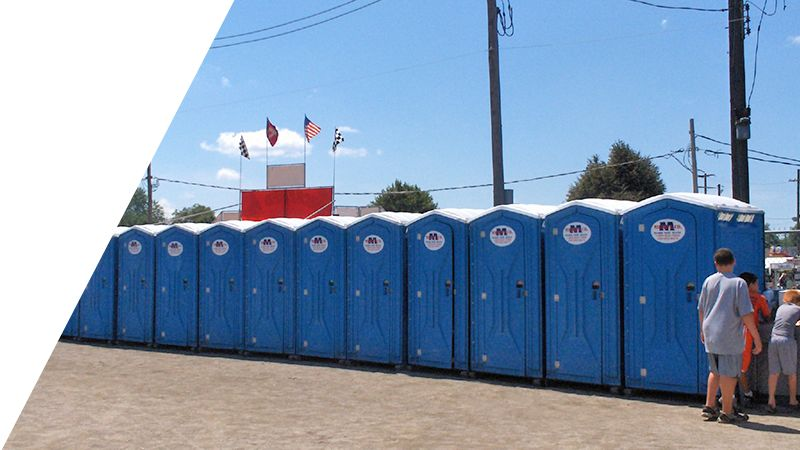 Festival Porta Potty Rental in Ohio