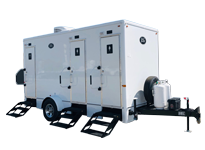 Combo Shower + Restroom Trailer